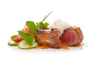 Bewusst ernähren: Steak, verfeinert mit Crème légère