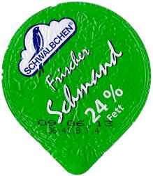 Schwälbchen: Frischer Schmand, 24% Fett